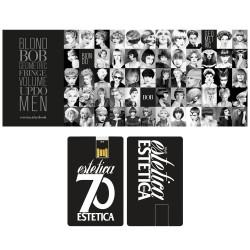USB Card Estetica 70 + Menu Salone
