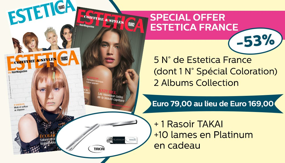 SPECIAL OFFER Estetica France A/H 2018
